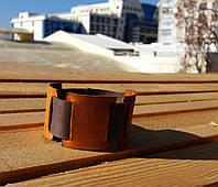Браслет аксессуар кожаный мужской со вставками от BRUTAL (Hand Made)