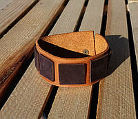Браслет аксессуар кожаный грань от BRUTAL (Hand Made)