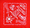 Бандана ФЕОДОСИЯ-1 красная (BK/14)