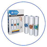 Набор из трех картриджей Aquafilter EXCITO-HF-CRT к линейной системе