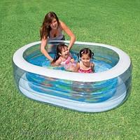 Детский надувной бассейн -овальный Intex 57482 , фото 1