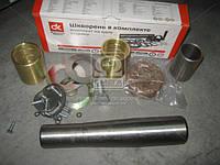Шкворень в комплекте (комплект на одну сторону) КАМАЗ 6520 и модифик. . 6520-3000100-01