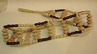 Массажер деревянный ленточный с роликами, фото 1