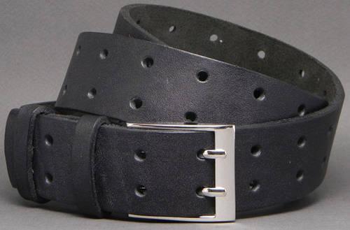 Женский ремень под джинсы из натуральной кожи Ожидание 4 см Svetlana Zubko F40106 черный