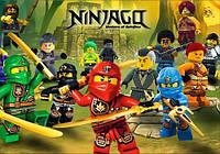 "Магнит сувенирный ""Ninjago"" 16"