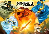 "Магнит сувенирный ""Ninjago"" 17"