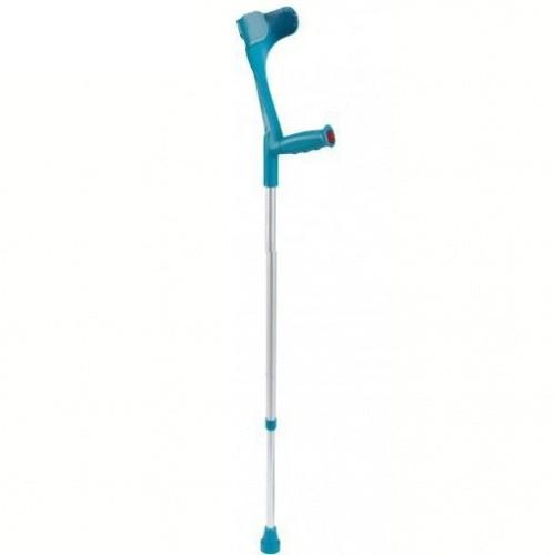 Подлокотный костыль «Klassiker » с эргономической рукояткой, телескопический, цвет бирюзовый, макс.нагрузка -