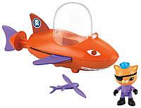 """Игровой набор Октонавты """"Шлюп-Б Квайзи"""" и летучая рыба Fisher-Price Octonauts, фото 1"""