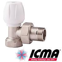Icma 802-803 вентиль радиаторный 3/4 угловой верхний