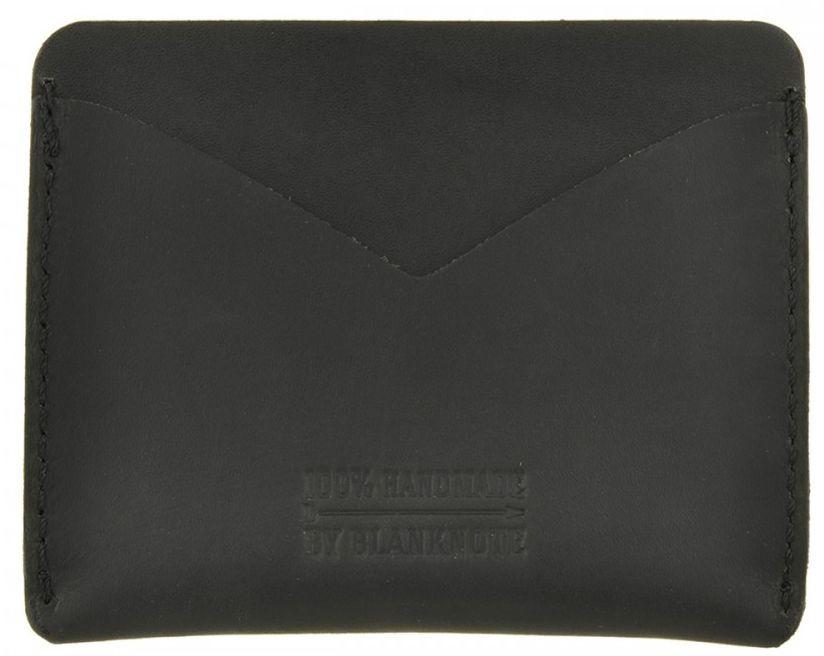 Ультра-тонкий кейс-портмоне из натуральной кожи BlankNote BN-KK-5-g графит