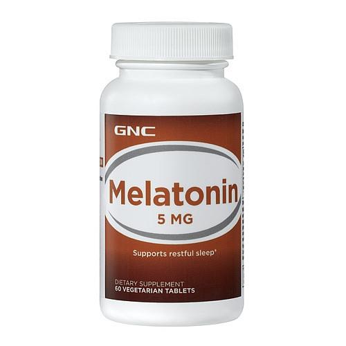GNC Melatonin 5 mg 60 veg tabs