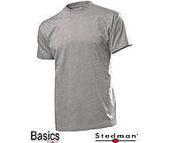 Футболка мужская STEDMAN SST2010,ST2010 CLASSIC-T FITTED Grey Heather