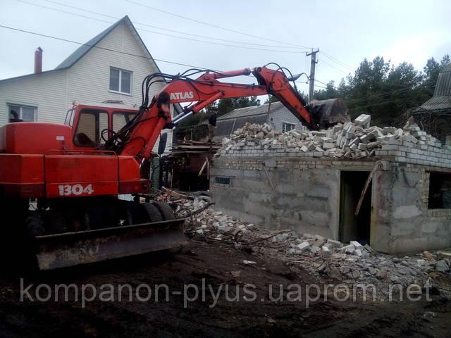 Знесення дачного будиночка
