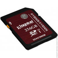 Карта Памяти Kingston SDXC 256GB Class 10 UHS-I U3 Ultimate (SDA3/256GB)