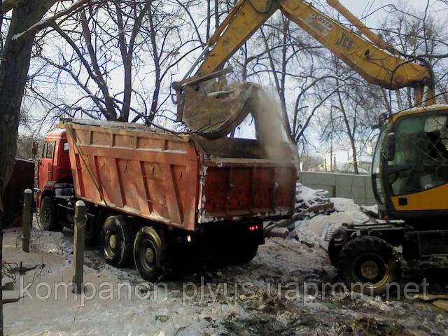 Навантаження і вивіз будівельного сміття