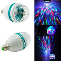 Диско лампа LED lamp вращающаяся  для вечеринок, фото 1