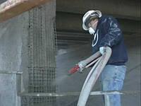 Торкретирование (набрызг-бетон)