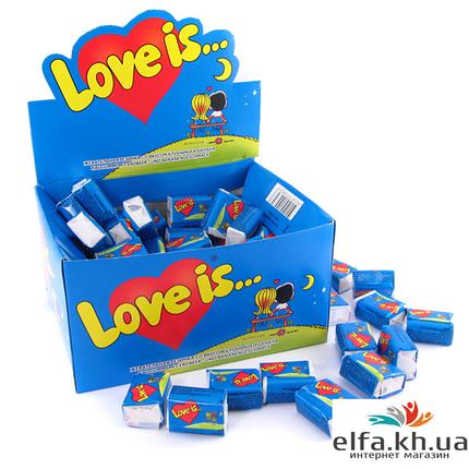 Жвачки Love is Банан-Клубника, фото 2