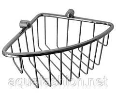 Угловая полочка-решетка для душа Paccini&Saccardi 30024 хром