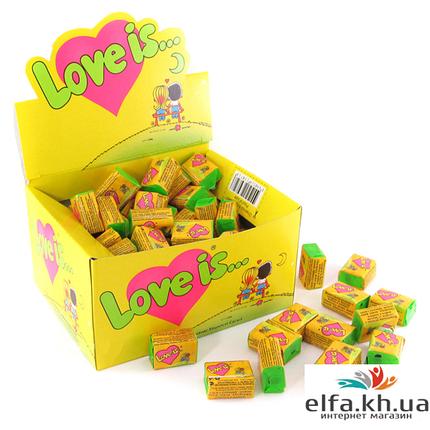 Жвачка Love is Кокос-ананас, фото 2