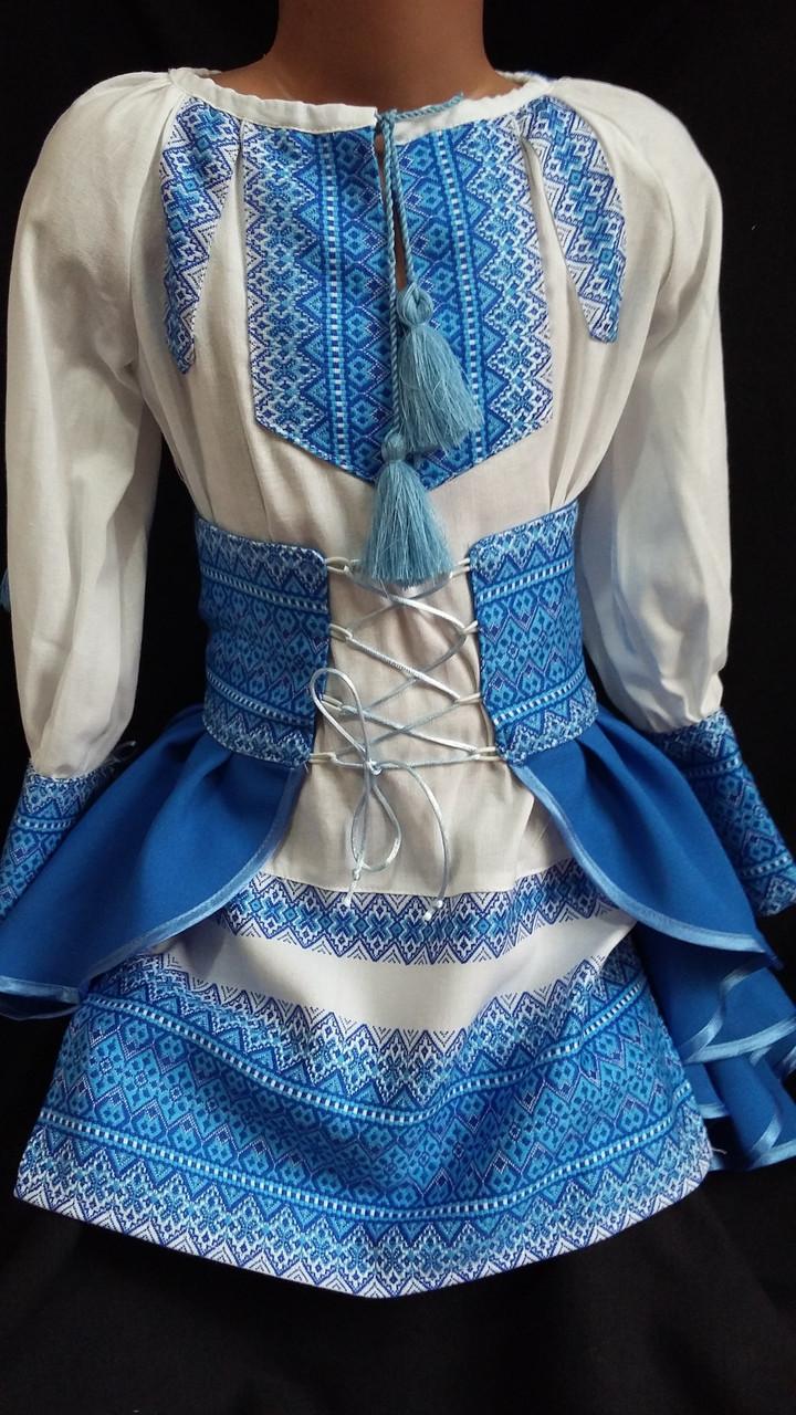 """Детский костюм  для девочки """"Украиночка"""", р-р 36-40, 530/490  (цена за 1 шт. + 40 гр.)"""