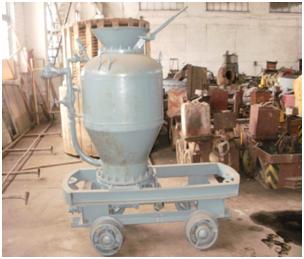Капітальний ремонт, модернізація торкрет обладнання