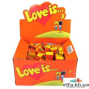Жуйки Love is Апельсин-Ананас