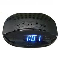 Часы сетевые  VST 908-5 синие, радио FM
