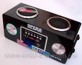 Акустическая колонка Opera OP-8708 6W, 220v MP3 SD USB FM, фото 3