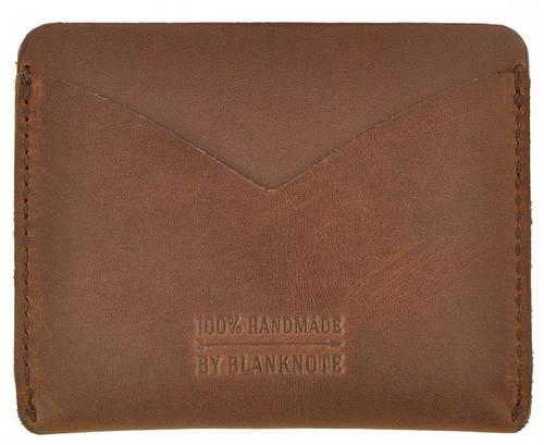Кожаный удивительный кейс-портмоне BlankNote BN-KK-5-o орех