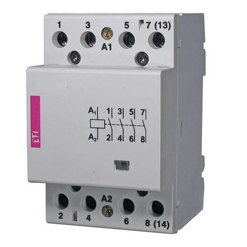 Модульный контактор ETI R 40-40 230V AC