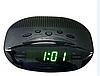 Часы сетевые VST 908-4 салатовые, радио FM