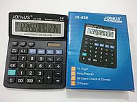 Большой настольный калькулятор. Бухгалтерский калькулятор Joinus JS-715N