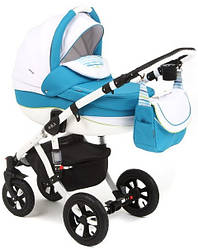 Детская коляска универсальная 2 в 1 Adamex Avila 18P (Адамекс Авила, Польша)