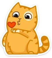 Мягкие игрушки коты Персик из ВКонтакте