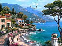 Картина по номерам Райский уголок худ. Сунг, Ким (VP003) 40 х 50 см