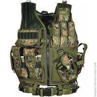 Разгрузочный Жилет Leapers Law Enforcement Tactical Vest, woodland digital (PVC-V547ET)