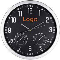 Часы с термометром и гигрометром, цвета в ассортименте
