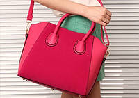 Практическая женская сумка с ручками. Стильная сумка. Низкая цена. Купить сумку в интернет-магазине. Код: КД80