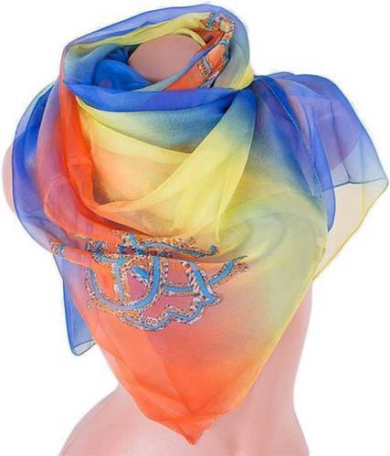 Стильный женский замечательный шарф 140*138 см ETERNO (ЭТЕРНО) ES0206-28-2