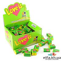 Жвачка Love is Яблоко-Лимон