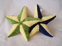 Декоративные подушки звезды