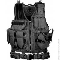 Разгрузочный Жилет Leapers Law Enforcement Tactical Vest, black (PVC-V547BT)
