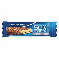 Протеиновый батончик MP 50% Protein Bar  печенье-сливки (50 гр)
