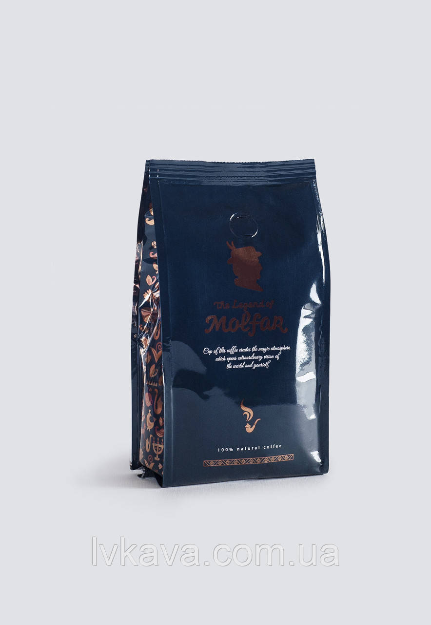 Кофе в зернах  Легенда Мольфара, синий,  1  кг