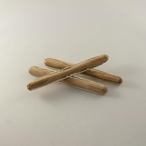 бигуди деревяные с резинкой, диаметром 8мм
