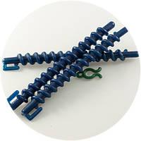 Бигуди-коклюшки спиральнные, пластиковые 10шт/уп., фото 1