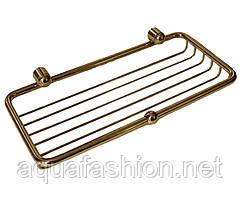 Золота полочка-решітка для душу Paccini&Saccardi Accessori Doccia 30114