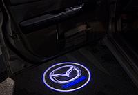 Подсветка дверей авто проектор логотипа автомобиля Mazda