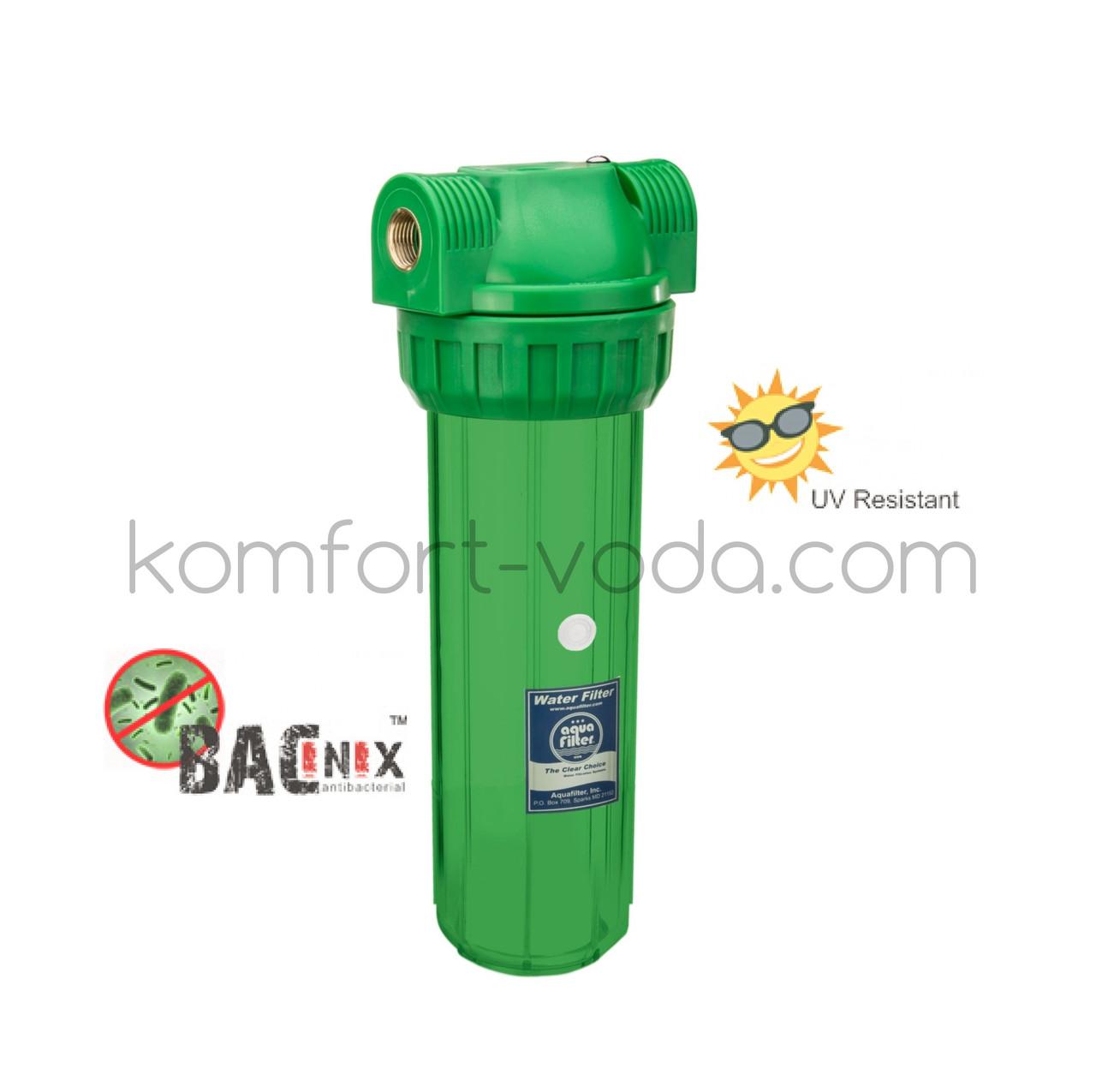 """Магистральный фильтр Aquafilter FHPR1-3S-AB, 10"""" (бактериостатический)"""